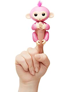 Amazon Com Wowwee Fingerlings Interactive Baby Monkey Bella