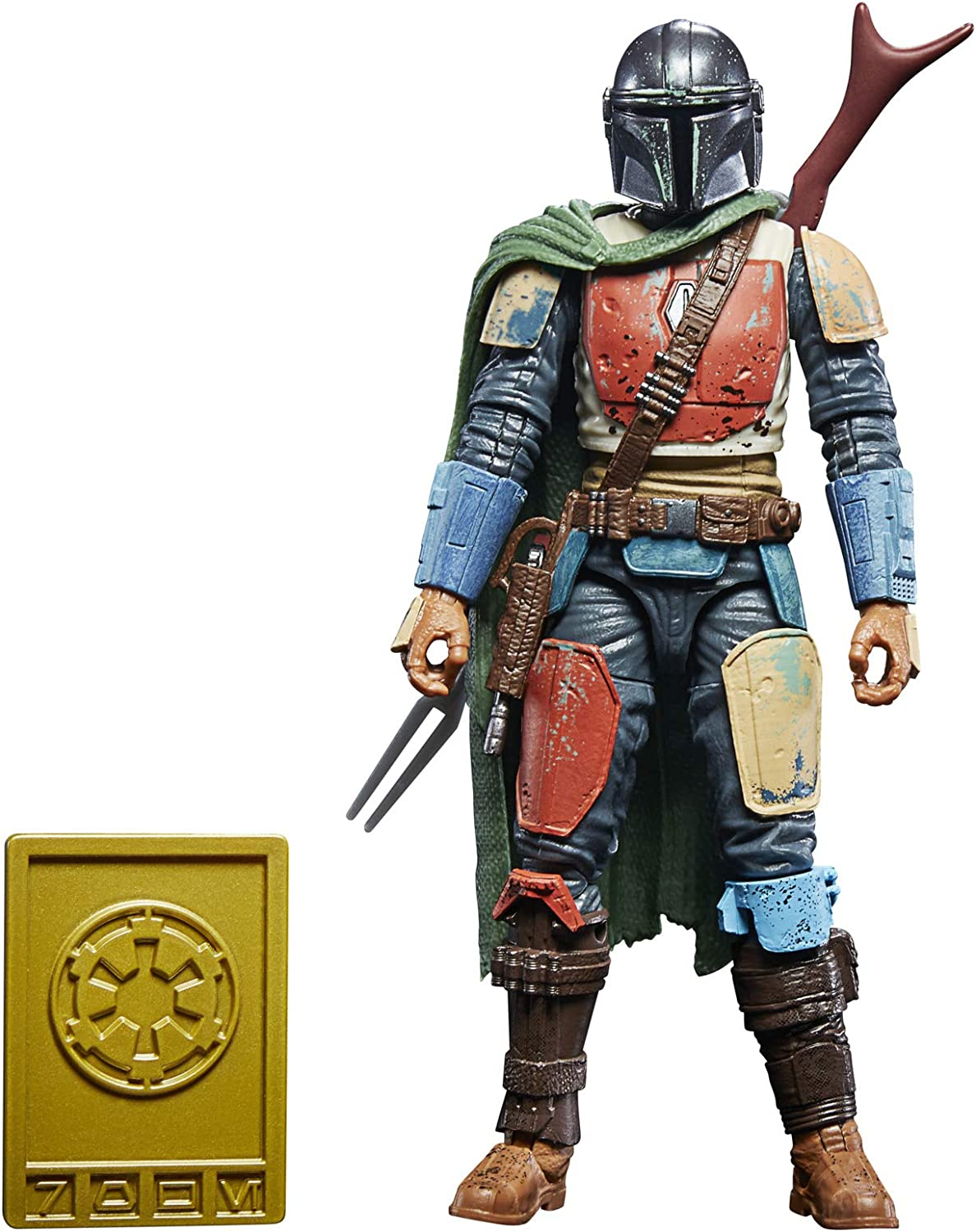 "Star Wars The Black Series Mandalorian Beskar 6/"" Action Figure Mint In Stock"