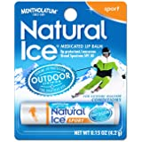 Natural Ice Sport - SPF 30 lip balm in Pack of 12 (4.5g each), Sport Flavor