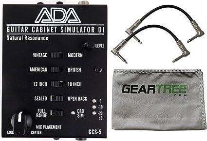 Ada gcs-5 Natural resonancia guitarra armario simulación y di un ...