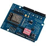 SODIAL(R) ESP-12E ESP8266 UART WIFI Wireless Shield Development Board For Arduino UNO R3