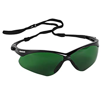 0a8b3bbce6c Image Unavailable. Image not available for. Color  Jackson Safety V30 Nemesis  Safety Glasses ...