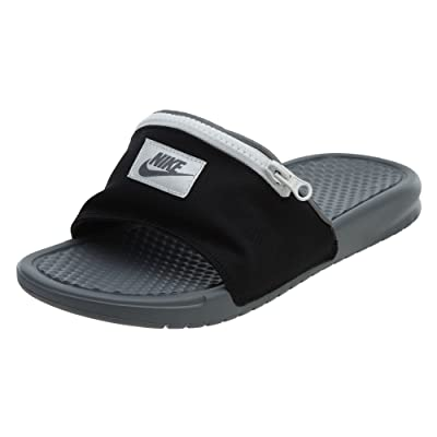 Nike Benassi JDI Fanny Pack - Black/Cool Grey-Summit White - AO1037-001 - SZ. 12 | Sport Sandals & Slides