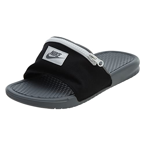 check out 5af84 ce5e2 Nike Benassi JDI Fanny Pack - Black Cool Grey-Summit White - AO1037-