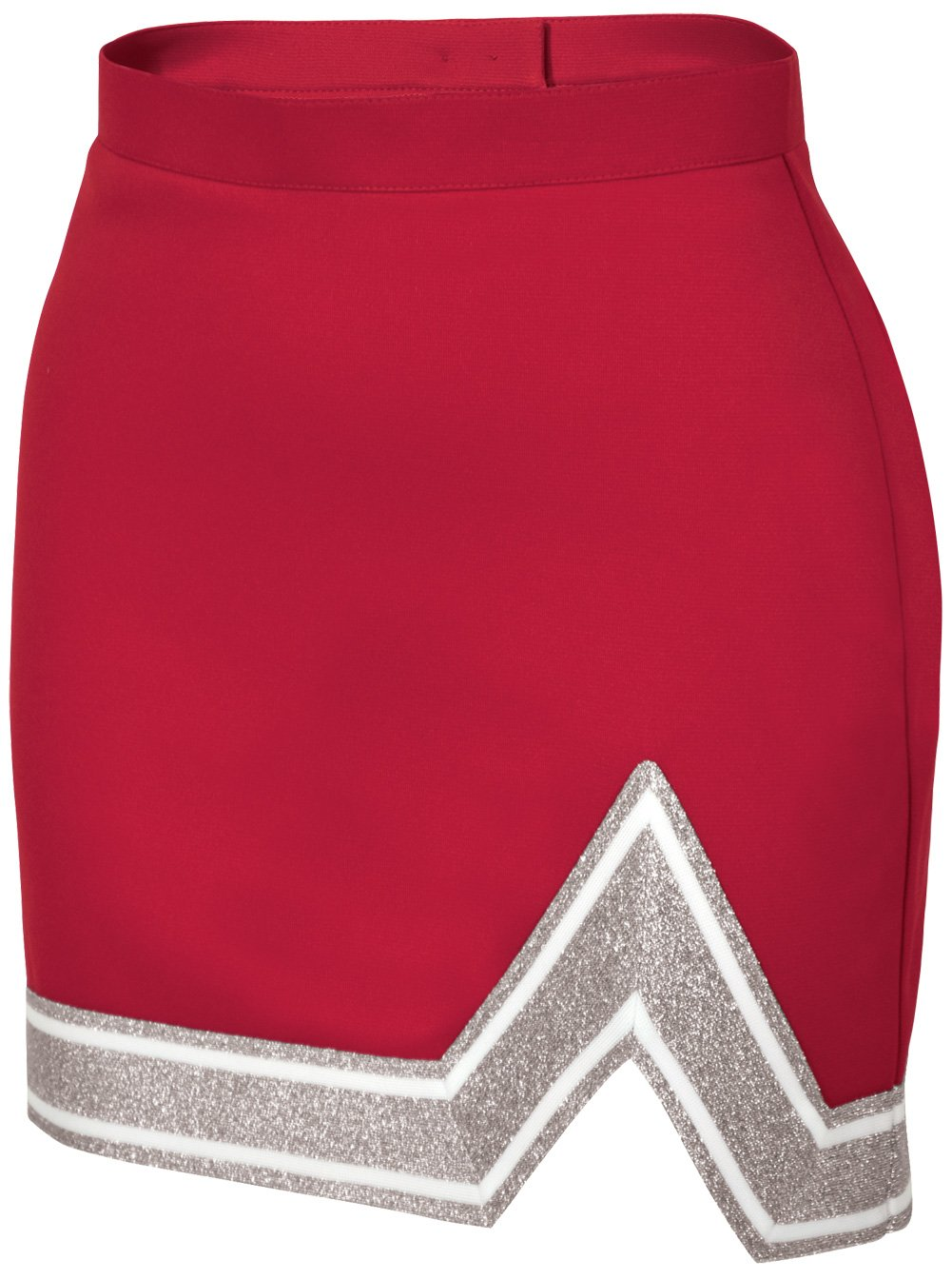 Chassé Womens' Blaze Skirt Red/White/Metallic Silver Adult X-Small