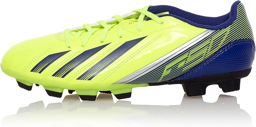 Adidas Zapatillas de fútbol F5 TRX FG Amarillo/Azul Marino EU ...