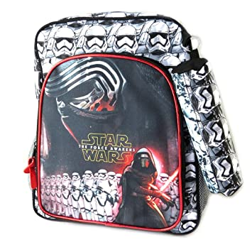 Mochila Star Warsnegro blanco rojo (+ kit)- 37x29x13 ...