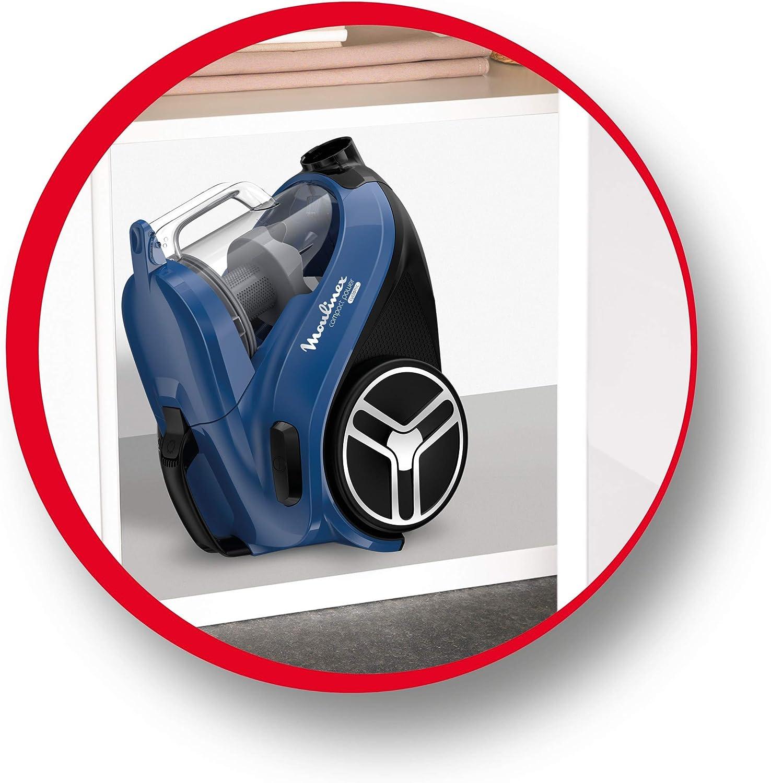 L/éger MOULINEX Compact Power Cyclonic Aspirateur sans Sac/ Performant Compact Maniable/MO3711Pa