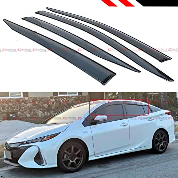 Fits 2016-2018 Toyota Prius 4 Door HatchBack Lower Back Glass Dark Tint Glue