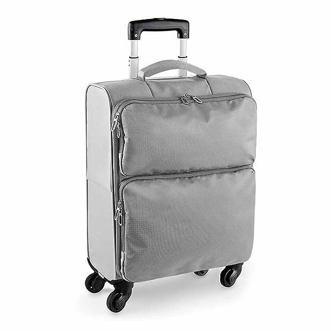 Bag-base-Maleta de ruedas BG470 mano con ruedas Gris Gris platinium talla única: Amazon.es: Equipaje
