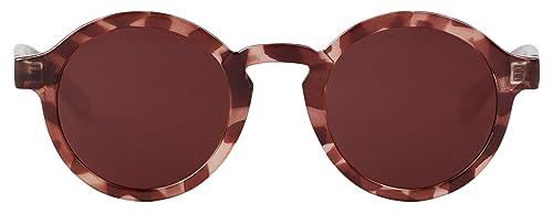 MR.BOHO, Monochrome red dalston - Gafas De Sol unisex color rojo, talla única