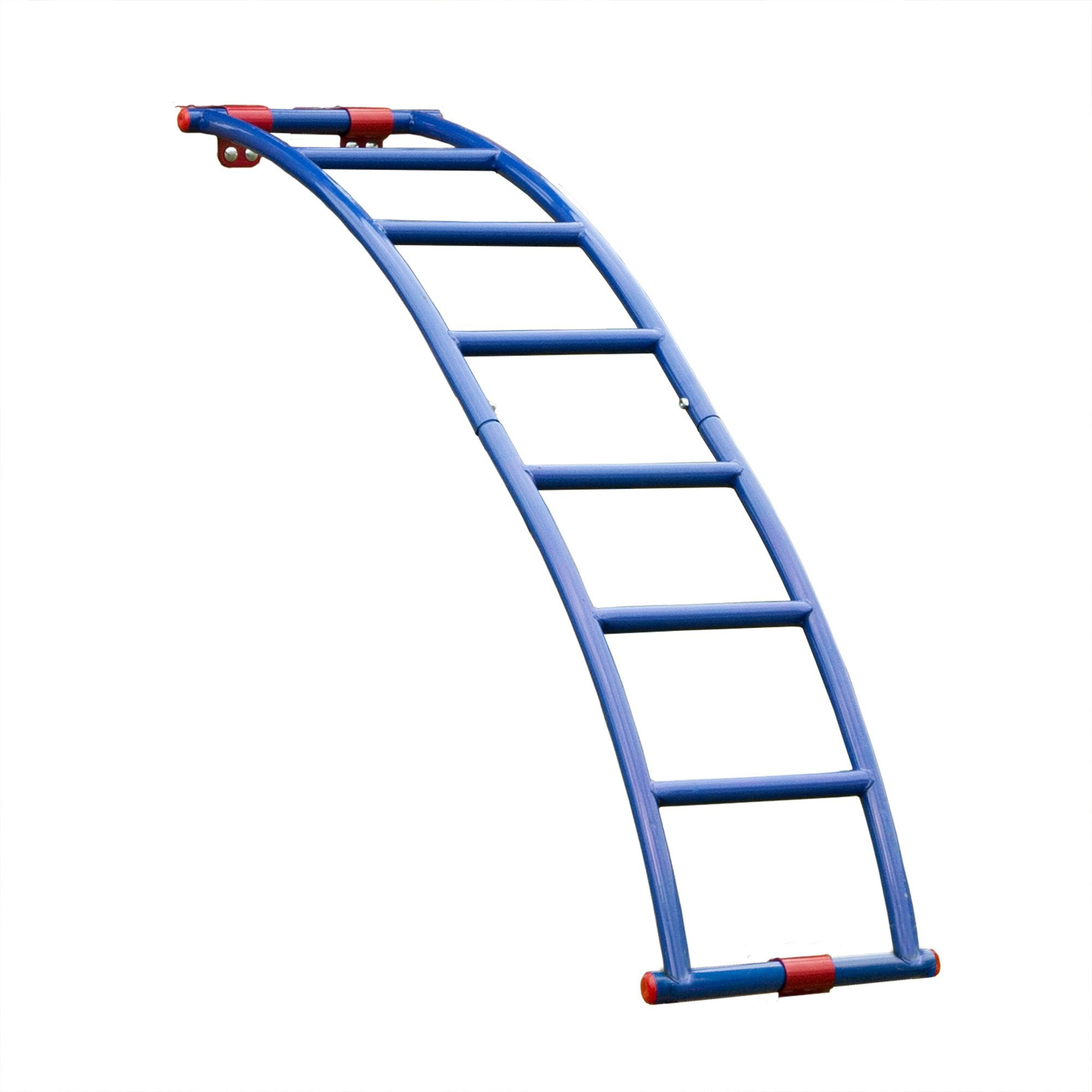 Swing-N-Slide NE 5040 Metal Arch Ladder with Multiple Configurations for Swing Sets, Play Sets & Playhouses, Blue & Red by Swing-N-Slide (Image #2)