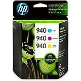HP 940 | 3 Ink Cartridges | Cyan, Magenta, Yellow | C4903AN, C4904AN, C4905AN