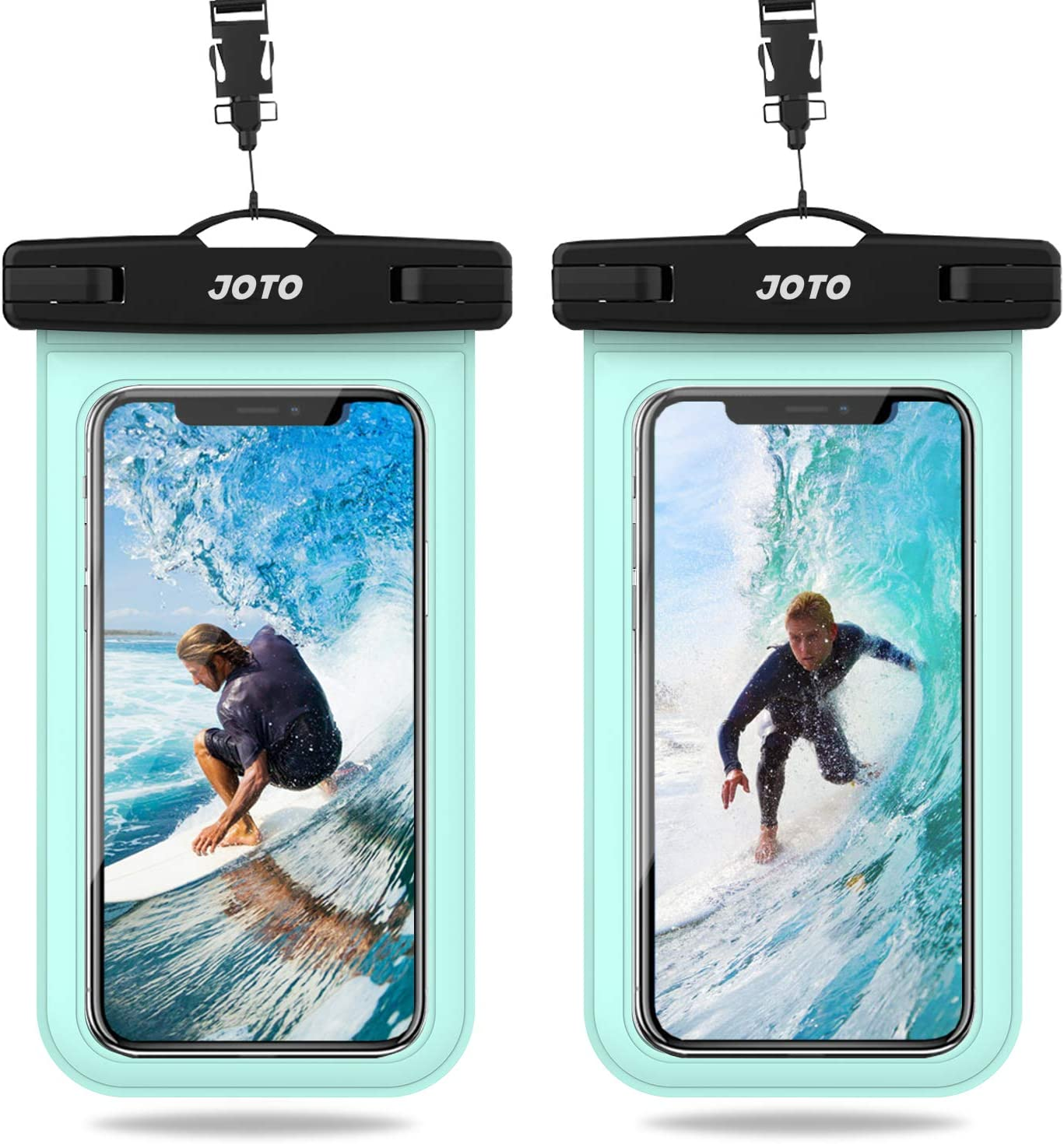 """JOTO 7"""" -2 Pack Universal Waterproof Pouch $6.79 Coupon"""