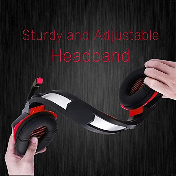 Gaming Headset micolindun micrófono PC Auricular Gamer con ...