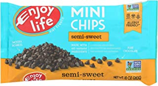 product image for Enjoy Life Baking Chocolate - Mini Chips - Semi-Sweet - Gluten Free - 10 oz - case of 12 - Dairy Free - Yeast Free - Wheat Free-Vegan