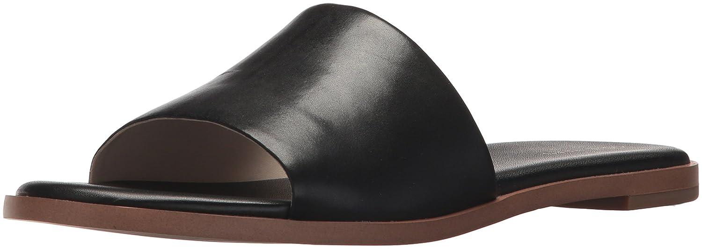 Black Leather Cole Haan Womens Anica Slide Sandal Slide Sandal