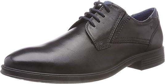 TALLA 41 EU. bugatti 311593011010, Zapatos de Cordones Derby para Hombre