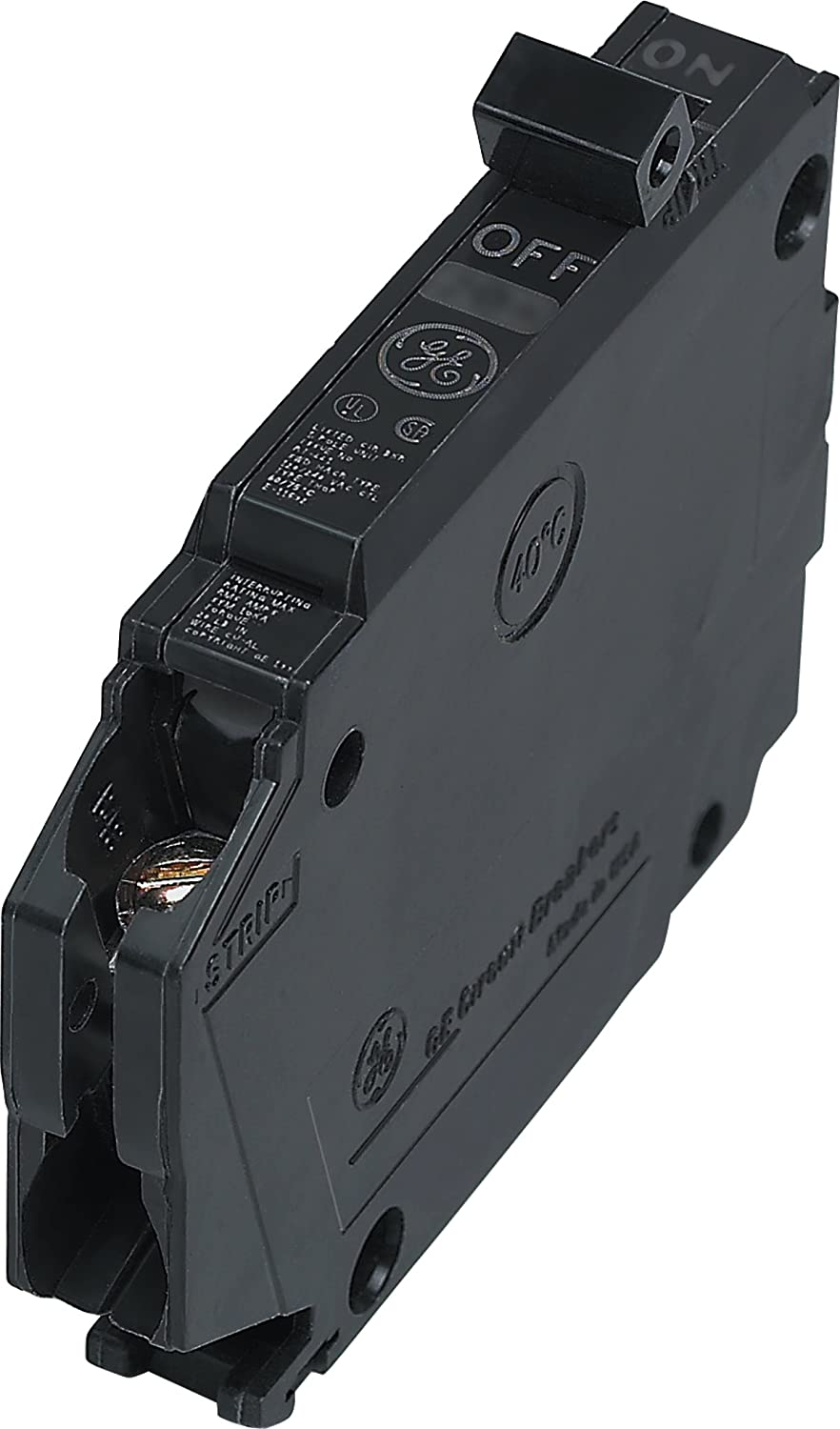 Connecticut Electric General Electric THQP120, 1-Pole 20-Amp Thin Series Circuit Breaker