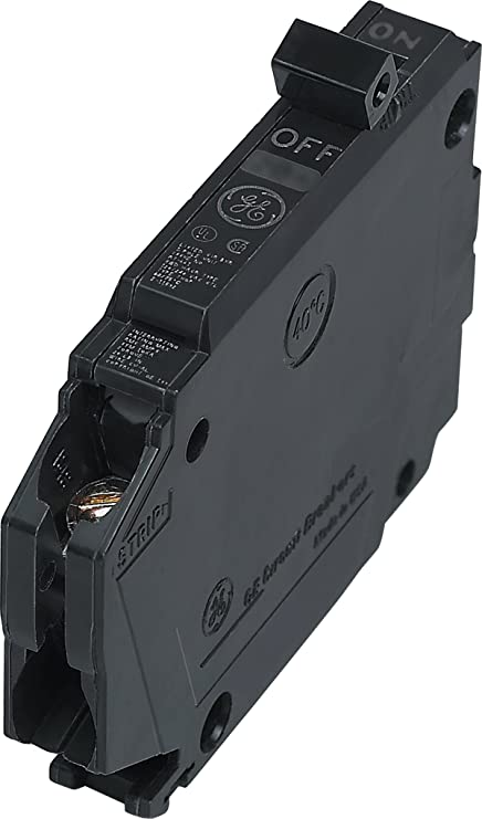 General Electric THQP120 Circuit Breaker, 1-Pole 20-Amp Thin Series ...