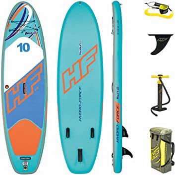 Bestway Hydro-Force Huaka I Tech Inflatable SUP Stand Up Paddle Board with  Carry 38c1ea64c8
