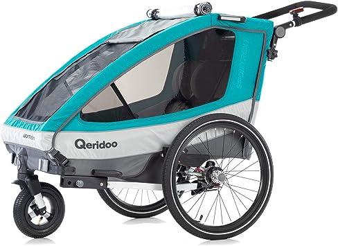 Qeridoo Sportrex1 - Remolque para Bicicleta: Amazon.es: Deportes ...
