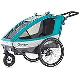Qeridoo Sportrex1 - Remolque para Bicicleta