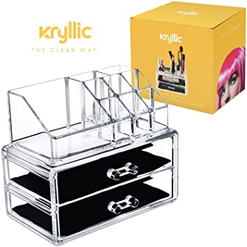 Amazoncom Acrylic Makeup Organizer Cosmetic Jewelry Great for