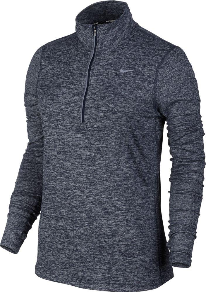 Nike Women's Element Half Zip - X-Small - Obsidian Blue