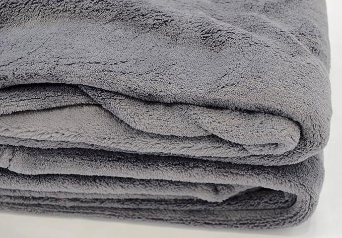 88598dcf26 Bertsch Hotelwäsche Flauschige Mikrofaser-Schlafdecke 150x200 cm  Kuscheldecke, Silbergrau, 200 x 150 x 1 cm: Amazon.de: Küche & Haushalt