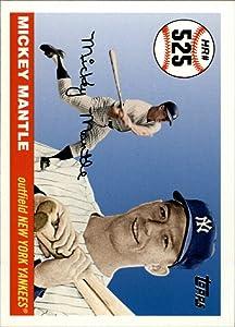 2006 Topps Mantle Home Run History #525 Mickey Mantle MLB Baseball Trading Card
