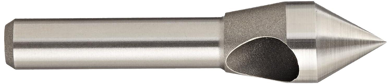 100 Degree Point Angle KEO 53539 Cobalt Steel Single-End Countersink Set TiN Coated 5//16-1 Head Diameter