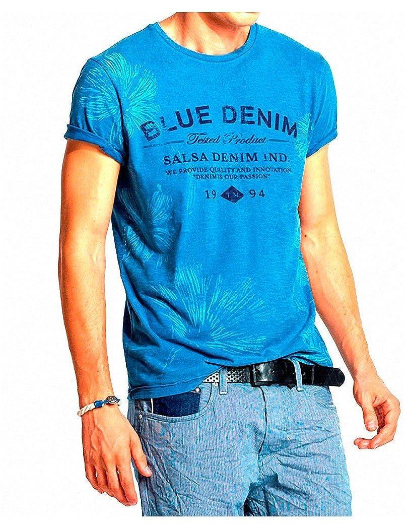 Amazon.com: Salsa Jeans T-Shirt Alejandro: Clothing