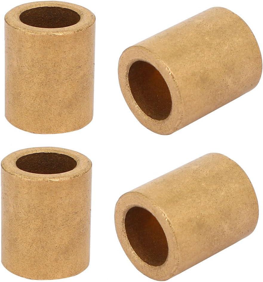 roulements 4PCS Aexit Douilles /à douille auto-lubrifiantes de 12 mm x 18 mm x 22 mm laiton
