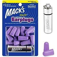 Protetor Auricular Mack's Slimfit 29db 7 Pares com Case