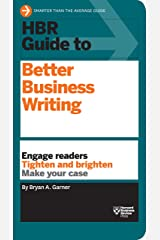 HBR Guide to Better Business Writing (HBR Guide Series) Kindle Edition
