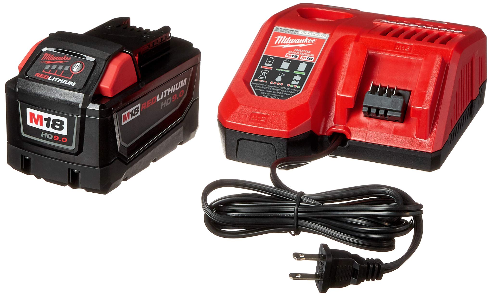 MILWAUKEE ELEC TOOL 48-59-1890 M18 9.0Ah Starter Kit by Milwaukee