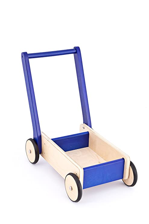 United Kids Tom - Carrito para muñecos y andador de madera ...