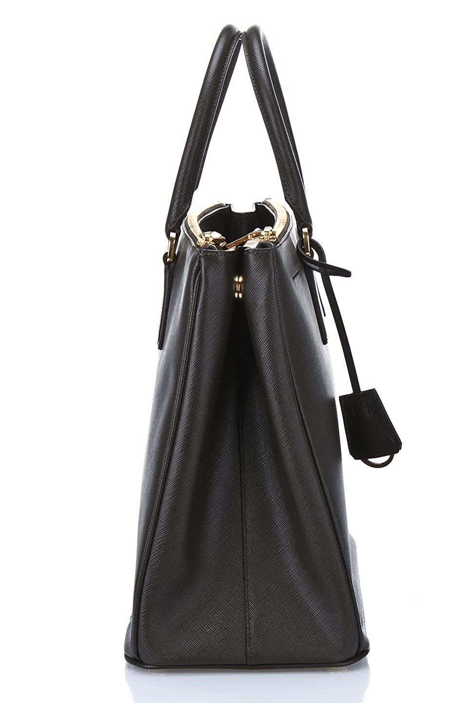 9496a33eff432c Prada Women's Tote Bag Saffiano Leather in Black Style BN1802:  Amazon.co.uk: Clothing