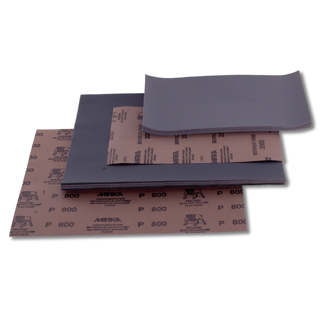 Mirka 2110105093 WPF Schleifmaterialien P1200, 50 Pro Pack, 230 x 280 mm