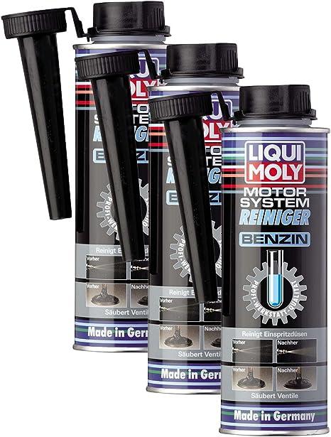 3x Liqui Moly 5129 Motor System Reiniger Benzin Additiv 300ml Auto