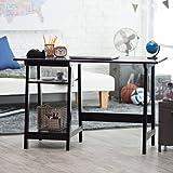 Amazon Com Beech Wood Desk Table Leg Trestle With Shelf