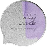 Fifty Shades of Lavender - Luxury Massage Oil Candle - with Hemp, Avocado, Coconut, Lavender, Eucalyptus, Peppermint…