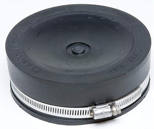 """Fernco PQC-106 6/"""" Flexible Qwik Cap"""