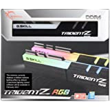 G.SKILL TridentZ RGB Series 16GB (2 x 8GB) 288-Pin SDRAM DDR4 3200 (PC4 25600) F4-3200C14D-16GTZR