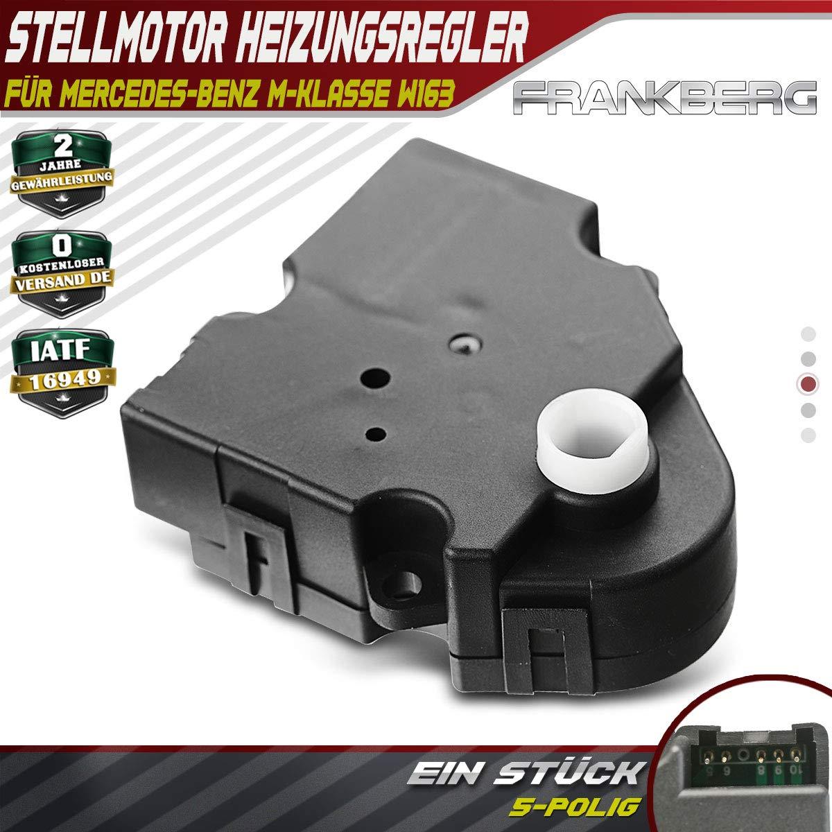 Stellmotor Heizungsregler Klima AC Heizung f/ür W163 ML230 ML270 ML320 ML350 ML400 ML430 ML500 ML55 AMG 1998-2005 604-938 1638200108