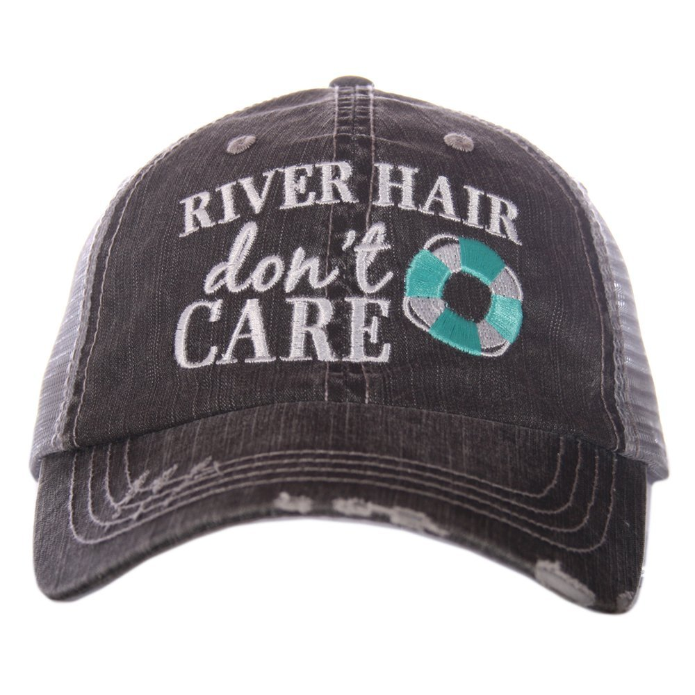 Katydid River Hair Don't Care Trucker Hat