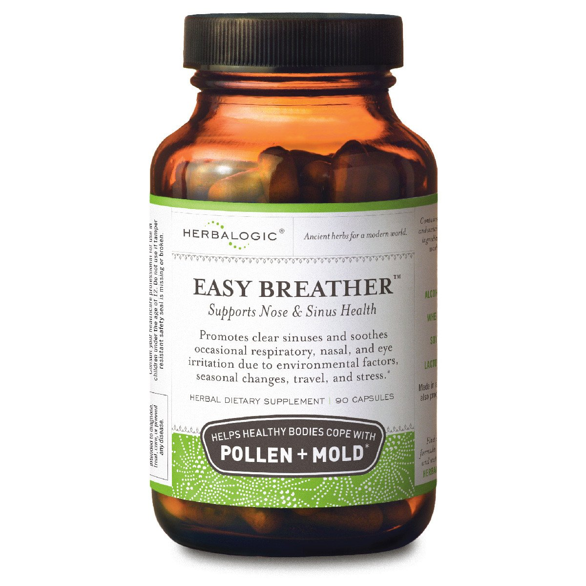 Herbalogic Easy Breather Capsules, 90 Count by Herbalogic