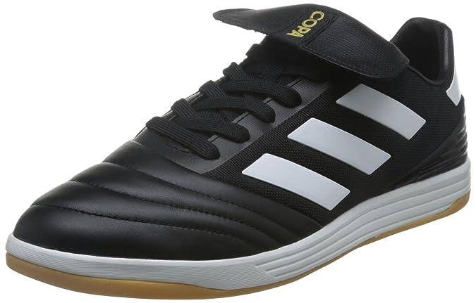 adidas Copa Tango 17.2 TR, Chaussures de Football Homme, Noir (Core Black/Crystal White/Gold Metallic), 48 2/3 EU