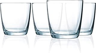 product image for Luminarc 10.5-Ounce Atlas OTR, Set Of 4, Short Glass, Clear